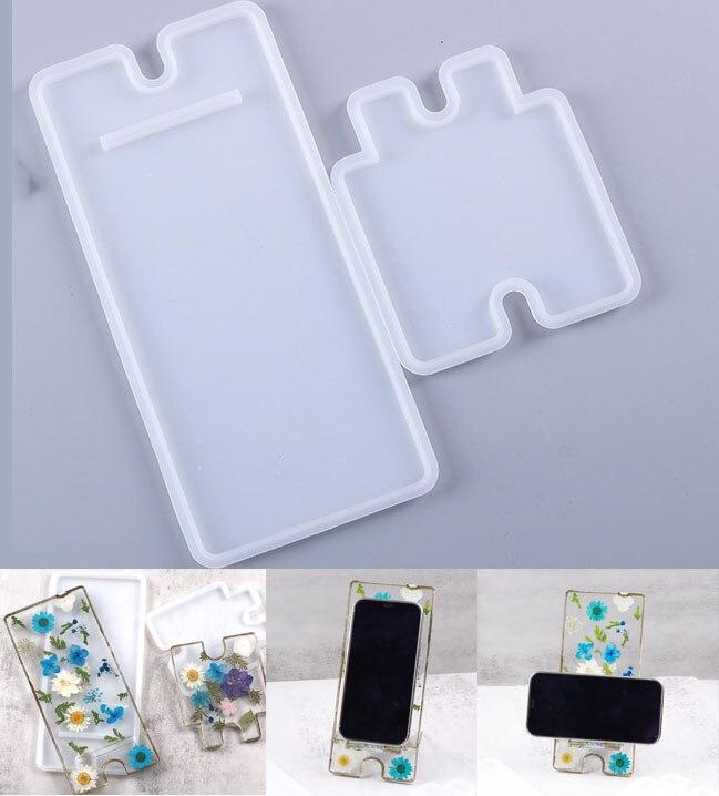 Ручной мобильный телефон держатель силиконовые формы для плетения браслетов ручной эпоксидной смолы мобильный телефон держатель пресс-форм ручной инструмент