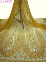 elegant sequins embroidery french lace perfect quality tulle lace fabric wedding party gowns sewing lace mesh lace fabrics