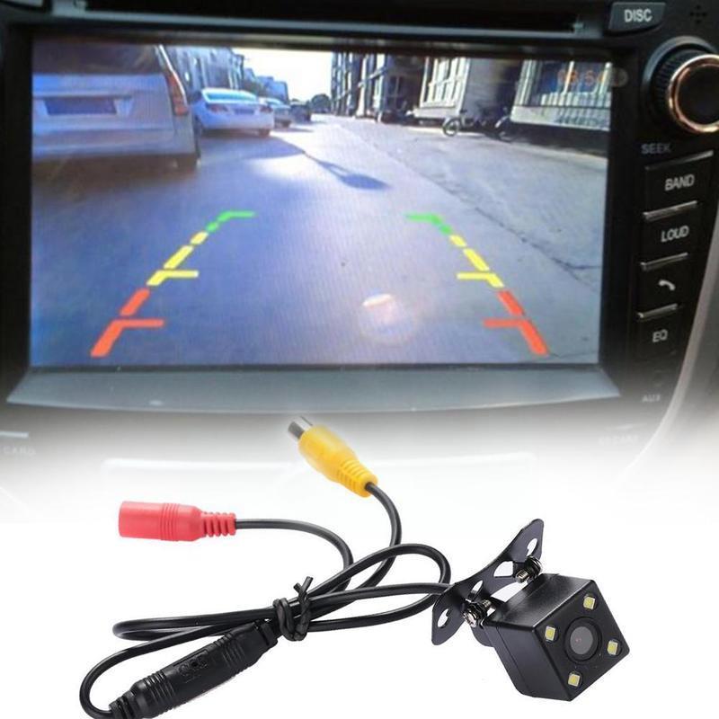 Водонепроницаемая Автомобильная камера заднего вида, ночное видение, реверсивное изображение, автомобильный парковочный монитор с углом о...