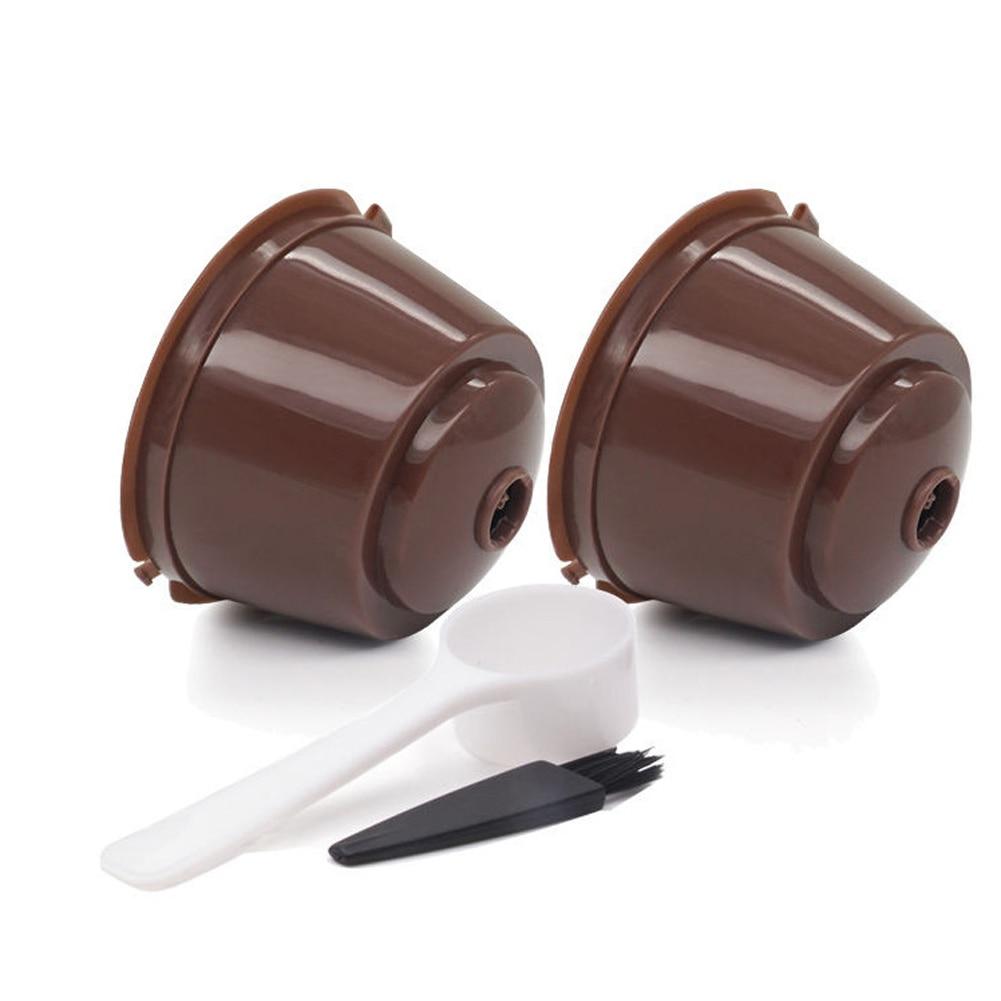 Unibird 6 pçs dolce gusto café fliter cestas cafeteira cápsulas caps reutilizáveis recarregáveis nescafé cápsula copos coffeeware ferramenta