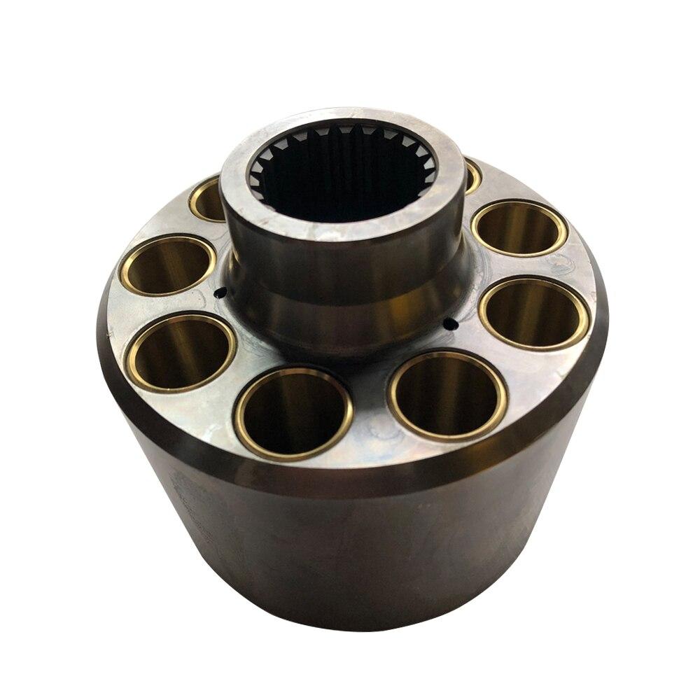 اسطوانة كتلة A4VG71 استبدال قطع غيار مضخة لإصلاح ريكسروث مكبس المضخة