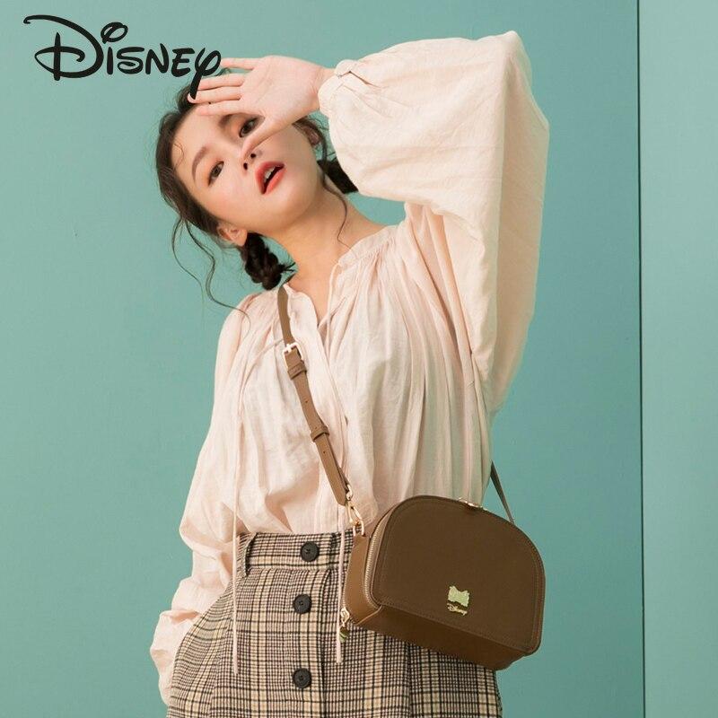 Disney's New Co-branded Authentic Ladies Shoulder Bag, Large Capacity Mobile Phone Bag, High Quality Luxury Ladies Messenger Bag