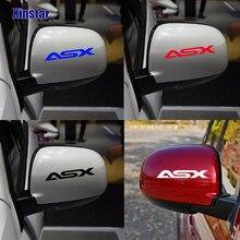 Pegatinas decorativas para espejo retrovisor de coche KK, 2 uds., para MITSUBISHI ASX