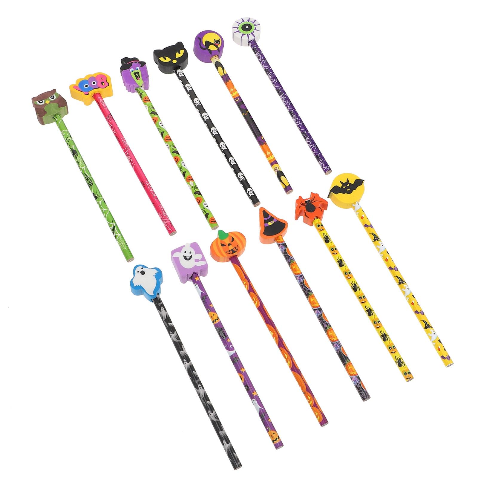 24 шт. карандаши практичные детские школьные карандаши для рисования (случайный цвет)