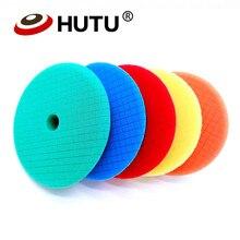 Для Полировки Автомобиля Kit 4/6/7 дюймов машины, полироль для автомобиля, подушка для полировки абразивный диск губка пены колодки