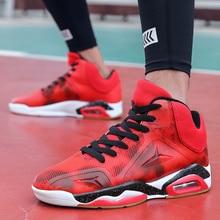 New Brand Men Sneakers High Top Men's Basketball Shoes Air Cusihioning Basketball Boots Men's Retro Jordan Shoes Zapatos Hombre