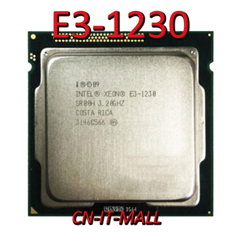 Intel Xeon E3-1230 CPU 3.2GHz 8M 4 Core 8 Threads LGA1155 Processor