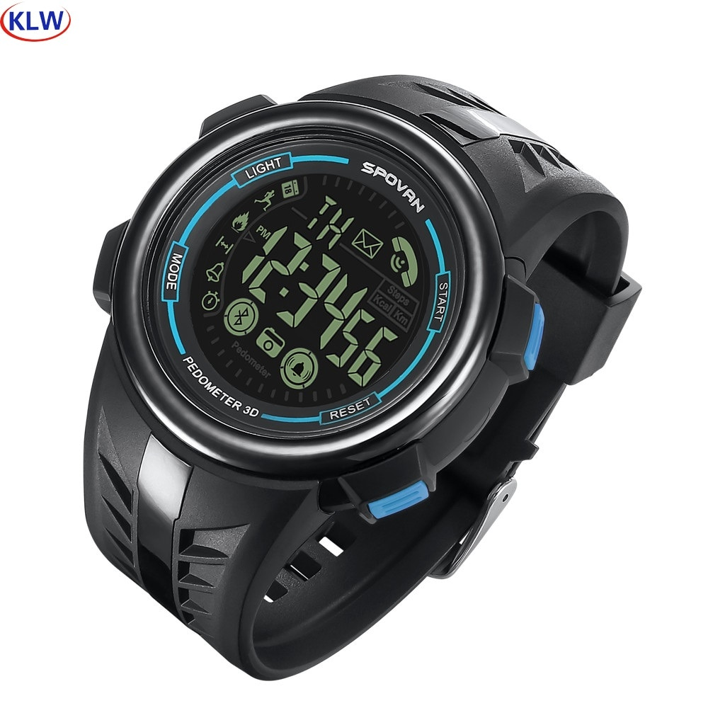 50m waterproof dual cpus Smart watch PR3 smart step counter Android Bluetooth IOS long standby sports watch