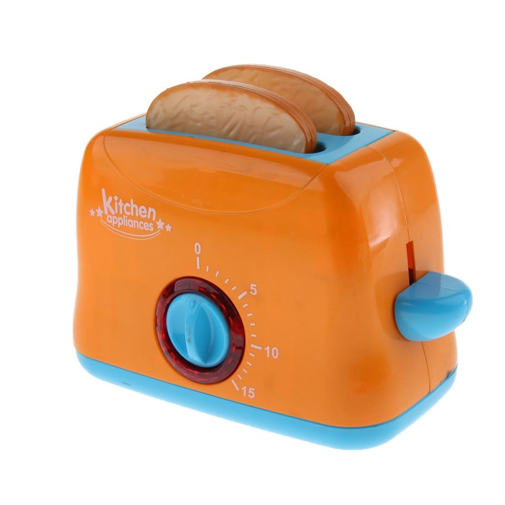 Бытовая техника на батарейках, детская игрушка для ролевых игр, кухонная хлебопечка