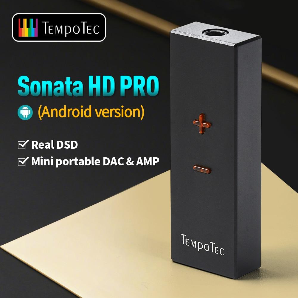 TempoTec (سوناتا HD برو ل أندرويد/PC) مضخم ضوت سماعات الأذن HiFi فك USB نوع C إلى 3.5 مللي متر محول DAC الصوت المحمولة خارج