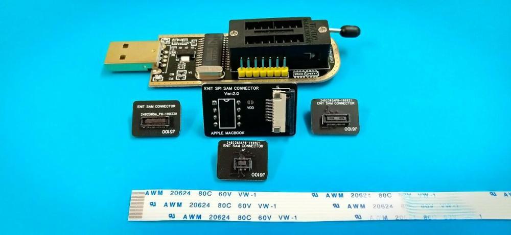Para APPLE MACBOOK PRO BIOS ENIT SAM conector FLASH herramienta de servicio para Apple Macbook Pro MacBook Air 2010-2017