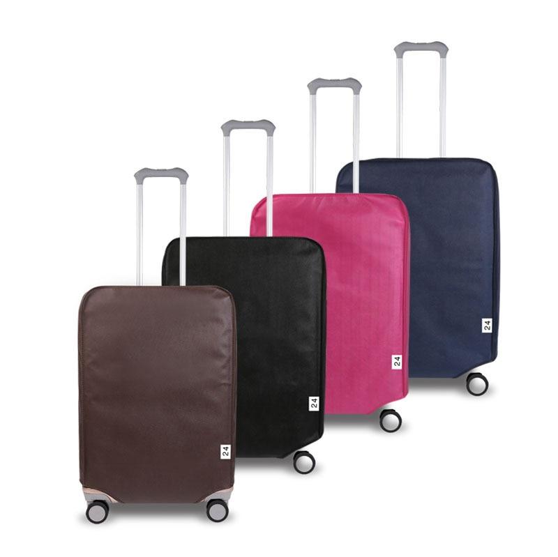 1 Uds. 20 pulgadas cubierta impermeable del polvo de la cubierta del equipaje de tela de alta elasticidad cubierta protectora duradera de la maleta accesorios de viaje