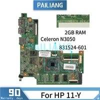 mainboard for hp 11 y celeron n3050 laptop motherboard 831524 601 831524 501 da0y0hmb6f0 sr29h tested ok