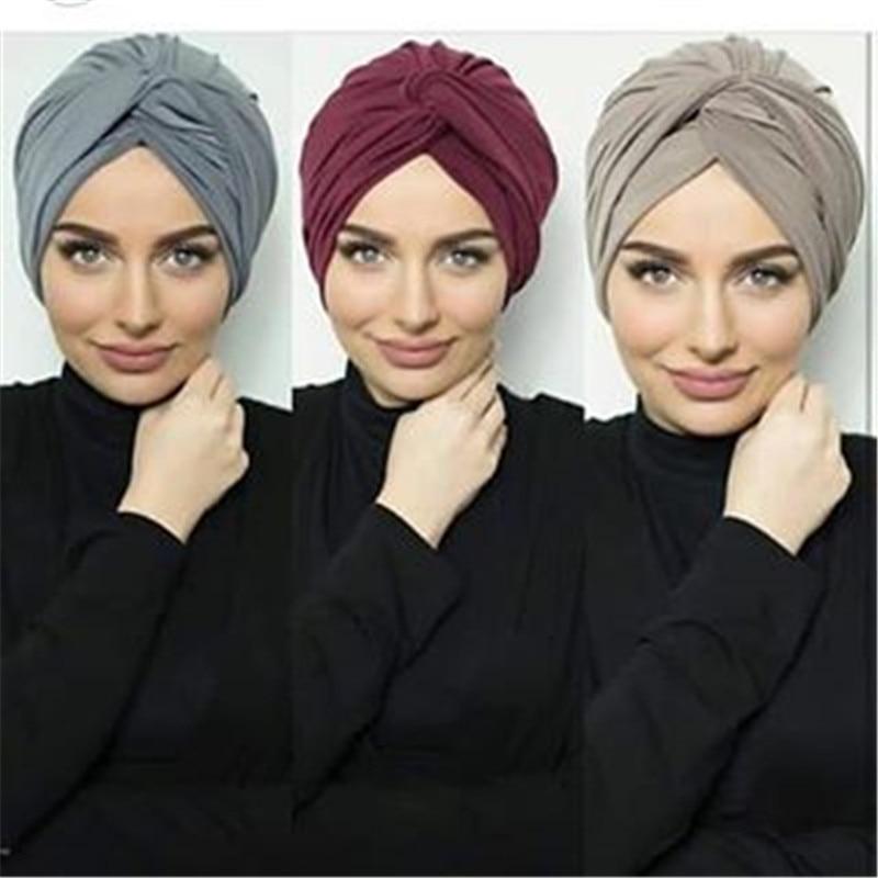 Мусульманский женский замшевый внутренний шапочки под хиджаб, женский головной платок, шарф, индийский Африканский тюрбан
