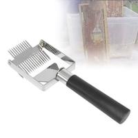 Скребок для пчеловодства, инструмент для удаления улей, меда, пластиковая ручка, сотовый скребок, оборудование для удаления укупорки, нож, в...