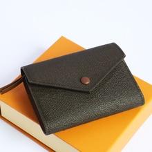 Fast Delivery Top Luxury Designer Wallets For Women Genuine Leather Big Bills Coins Change Bag Credi