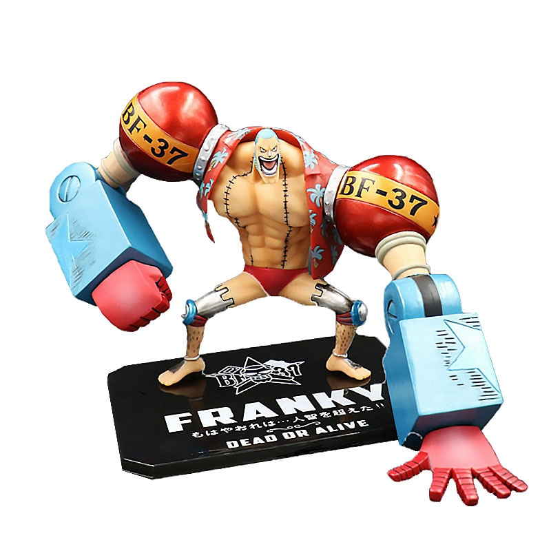 One Piece Zero New World Franci Combat Version Boxed Doll Hand-Made Model Ornaments Collect Gift