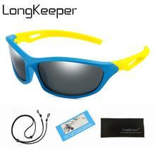 الكلاسيكية الاطفال النظارات الشمسية مع الحبل الأطفال الاستقطاب الرياضة نظارات شمسية الفتيات الفتيان مرآة نظارات السلامة UV400 الرضع Oculos