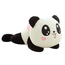 20CM Panda ours en peluche peluche poupée jouet doux Animal Panda en peluche enfants bébé cadeau oreiller anniversaire noël coussin traversin