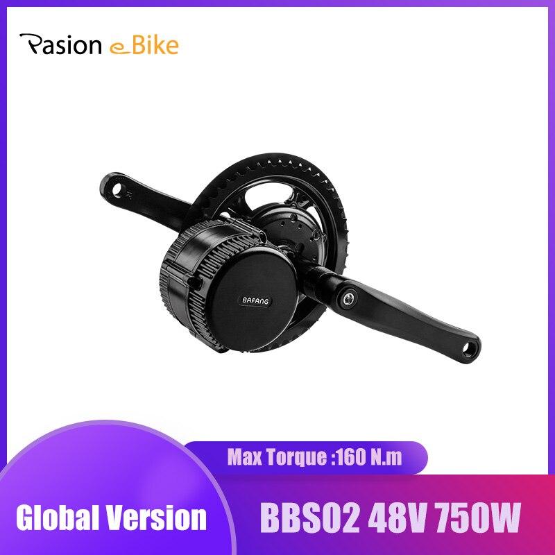 48v 750w Bafang BBS02 750W Mitte Antrieb Motor 8fun BBS02 Elektrische Bike Conversion Kits C965 DPC18 Elektrische fahrrad eBike Display