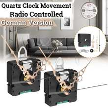 1/2/5/10x Quartz Clock Atomic Radio Controlled Silent Clock Movement DIY Kit Germany DCF Signal HR9403 Model Just for European