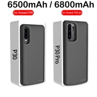 6800mah power bank battery charger case for huawei p30 pro battery case for huawei p30 p30pro power bank charging cover case