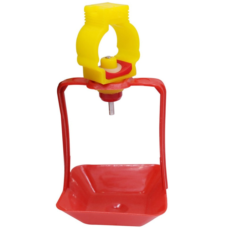 40 Sets of Chicken Nipple Drinker Hanging Cup Chicken House Drinking Cup Bird Bird Water Line