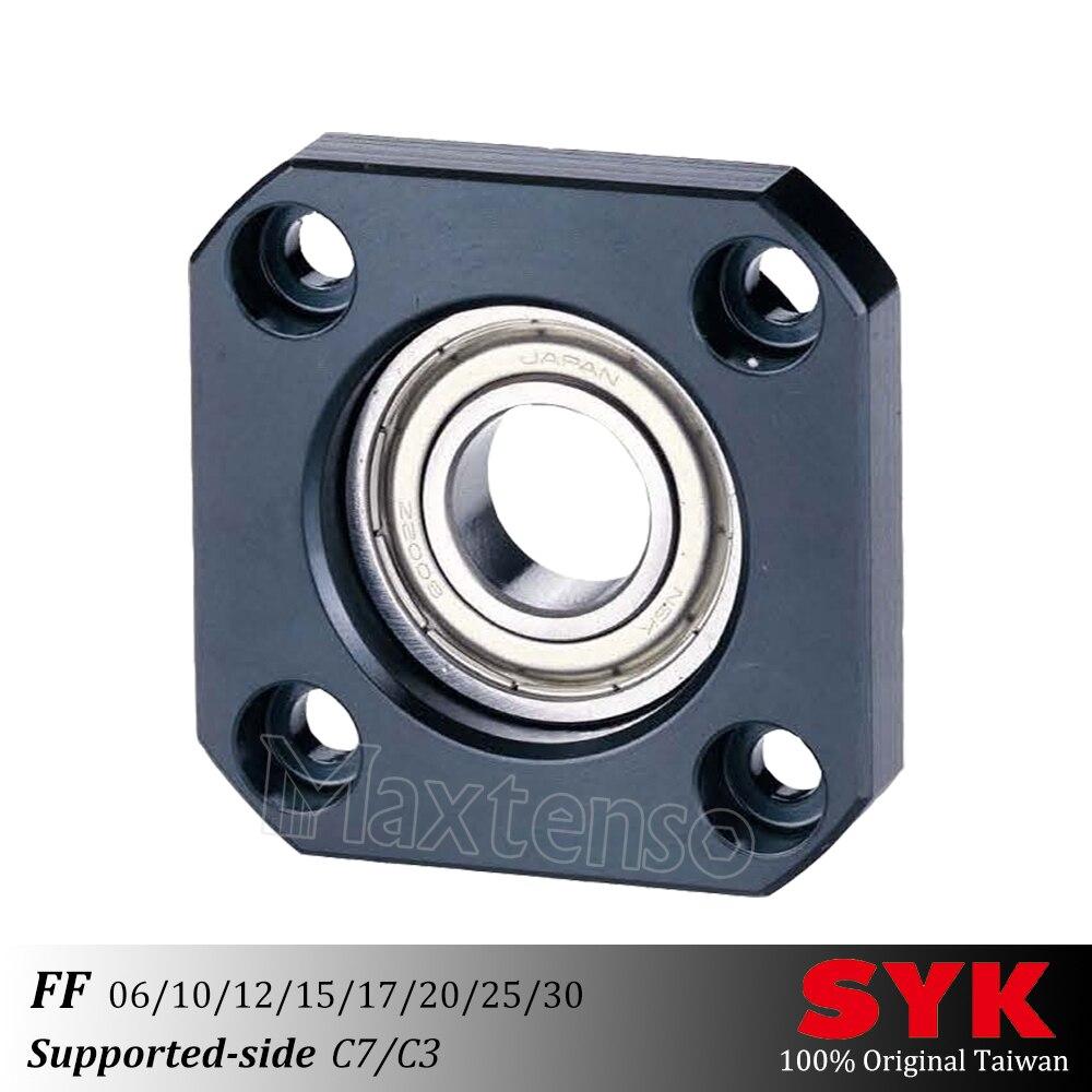 SYK Unidad de Soporte profesional FF06 FF10 FF12 FF15 FF17 FF20 FF25 FF30 soporte lateral C3 C7 para tornillo de bola TBI sfu CNC Premium