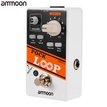 Ammoon POCK SCHLEIFE Looper Gitarre Effekt Pedal 11 Loopers Pedal Schleife Elektrische Gitarre Pedal Reverse True Bypass Gitarre Zubehör