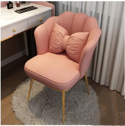Net red chair makeup chair desk chair light luxury dining chair Princess back combination dressing chair manicure chair