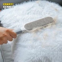 dog comb tool pet hair brush dog cat fur brush base double side home furniture sofa clothes cleaning lint brush d1754