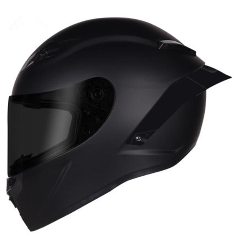 Мотоциклетный шлем на все лицо, гоночный шлем для мотокросса с радужным козырьком, матовый черный, в горошек защита на прогулке cherrymom шлем для защиты головы млечный путь