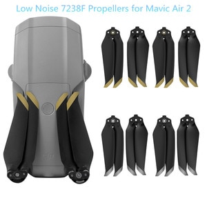 NEW Mavic Air 2 Low Noise Props 7238F PC Propellers CW/C CW for DJI FPV Drone Accessories