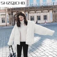 shzq parkas 2021 winter jacket women ladies down cotton coats loose style hooded coat female clothes jaqueta feminina lwl617