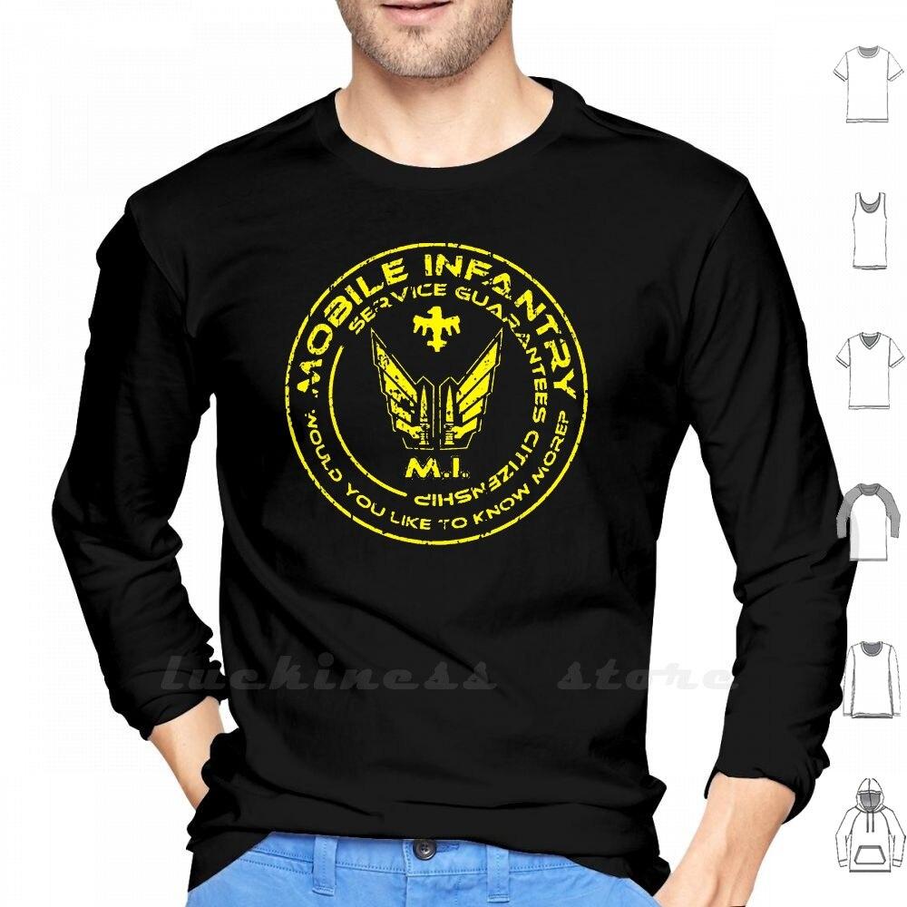 Звездный Корабль, солдат-Мобильная, для мотоциклистов, с длинным рукавом, Мужская Подростковая бейсбольная рубашка, Звездный Корабль, тропп...