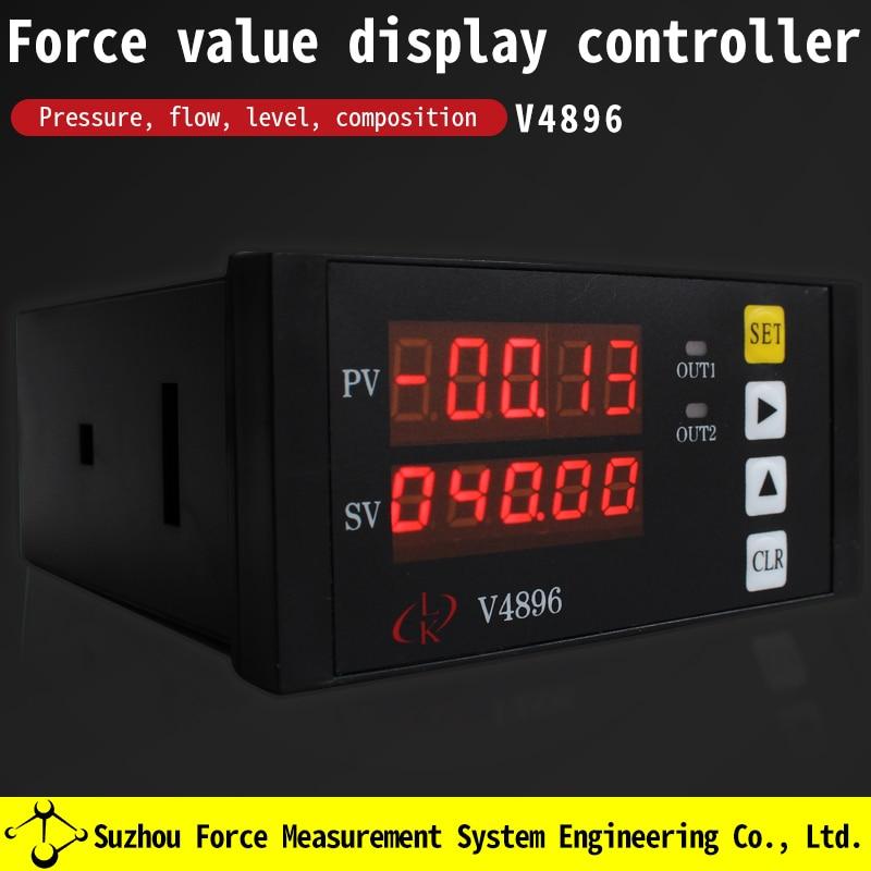 Pesando medidor de exibição digital instrumento controlador decrement dupla janela peak hold pesando controle exibição