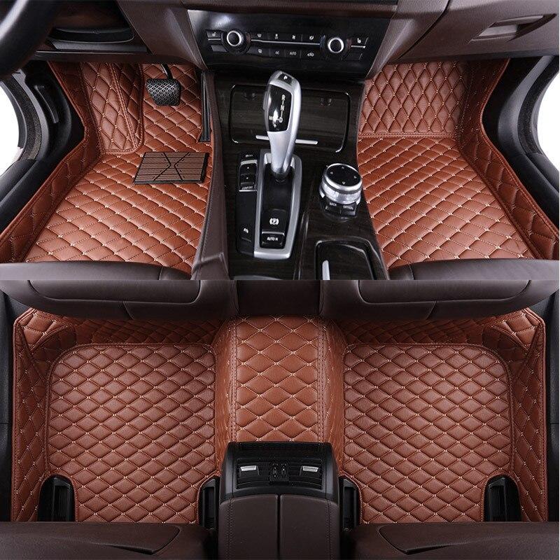 High Quality Custom Car Floor Mats For Ssangyong Actyon Kyron Rexton W Chairman Korando Car Accessories Car Foot Mats