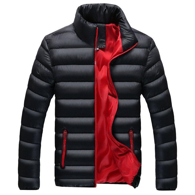 Мужская новая хлопковая куртка зимняя пуховая хлопковая куртка мужская теплая куртка воротник Толстая куртка мужская пуховая хлопковая Ку...