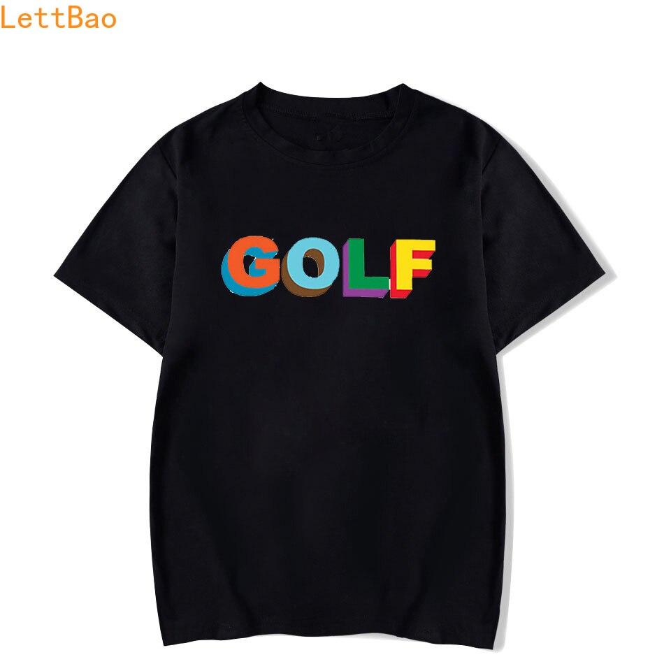 Golf Wang Tyler The Creator Rap T-shirt Men/women Summer 2020 Cotton Short Sleeve New Vogue T Shirt Fashion New Arrival Simple