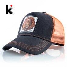 Casquette de Baseball en maille respirante   Casquette de camionneur, casquette de Baseball, casquette de Baseball Hip Hop à la mode pour hommes et femmes, casquette Streetwear