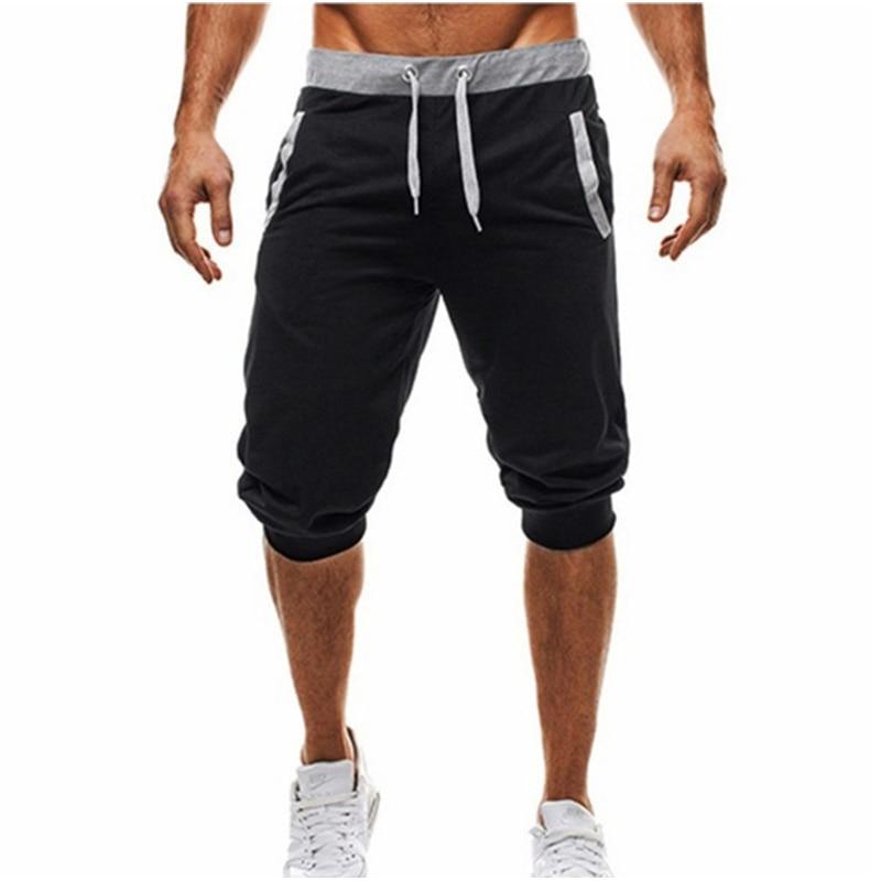 Популярные модные брендовые мужские повседневные шорты, летние новые мужские шорты с принтом и кулиской, Мужские дышащие удобные шорты, 2021
