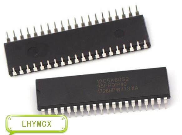 10 Uds STC12C5A60S2-35I-PDIP STC12C5A60S2 12C5A60S2 DIP40