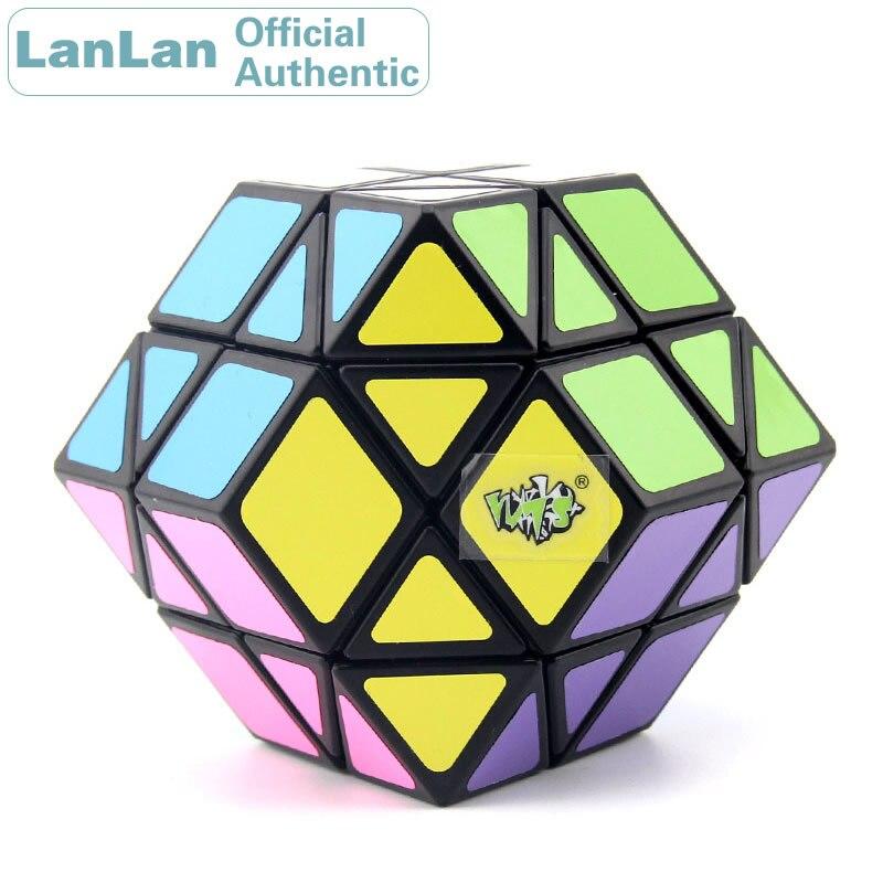ألعاب تعليمية من LanLan لمكعبات سحرية من نوع Dodecahedron ذات 12 محور ومزودة بسرعات لغز ضد الإجهاد ألعاب تعليمية