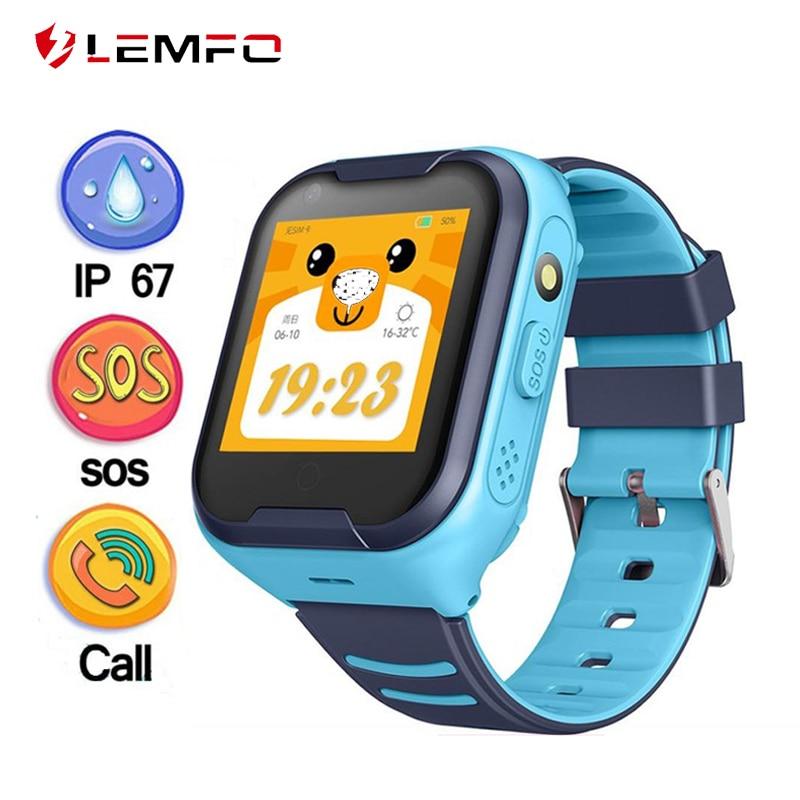LEMFO G4H 4G Kids Smart Watch GPS Wifi IP67 Waterproof 650Mah 1.4 Inch Display Camera Take Video Call Smartwatch For Boys Girls