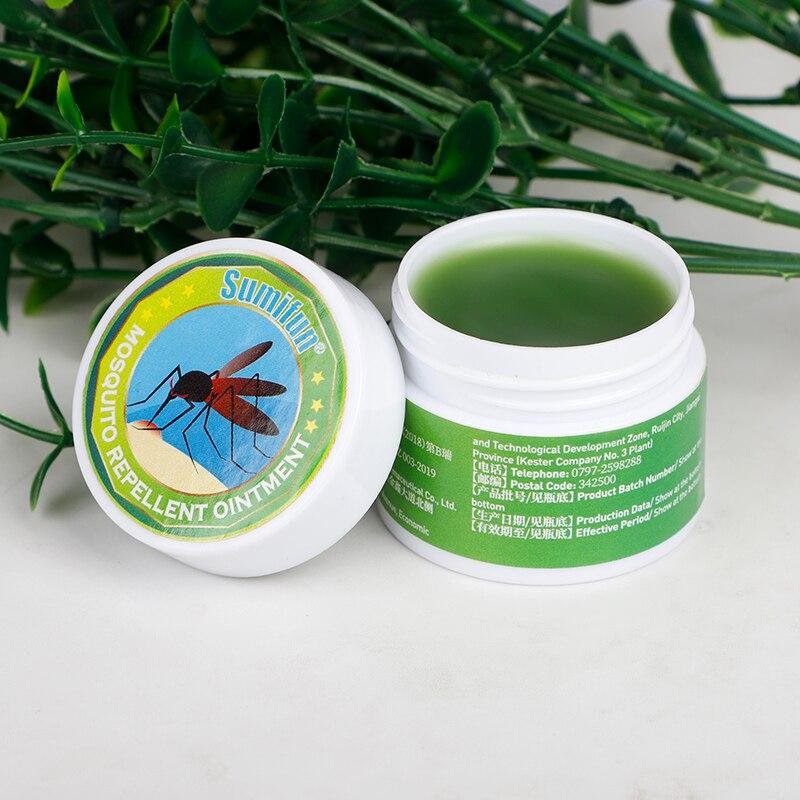 1pcs Sumifun Green Herbal Ointment Cool Oil Cold Headache Dizziness Sunburn Muscle Rub Aches Pain Relief Cream Skin Care K20003