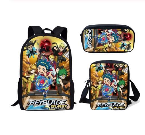 Bolsos escolares de moda Anime Beyblade Burst Evolution mochila escolar mochila para adolescentes niñas niños mochilas para ordenador portátil