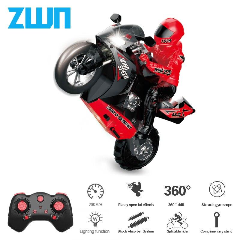 Самобалансирующийся Радиоуправляемый автомобиль ZWN M5 1/6, 210 минут работы, дистанционное управление, игрушки для детей и взрослых