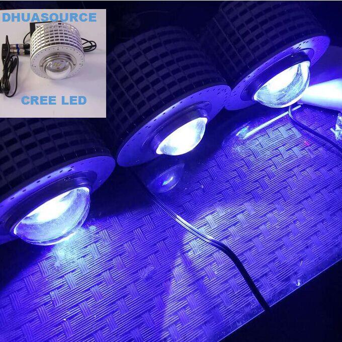 CREE LED Aquarium Lighting Plants Grow Light For Fish Aquatic Plant Tank CREE LED 50W Lamp UL/EU/BS Plug