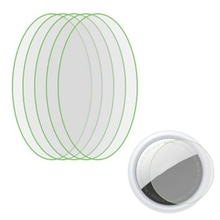 5pcs HD TPU Film For AirTag Key Finder Protective Films For Airtags Touch Screen Adhesive HD Ultra-c