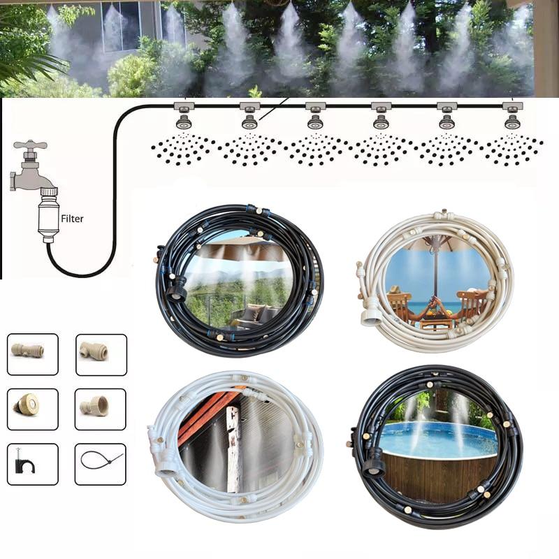 Ücretsiz kargo sis sis sistemi çin tedarikçisi klima çalışma basıncı 2-30 Bar su püskürtme soğutma sistemi